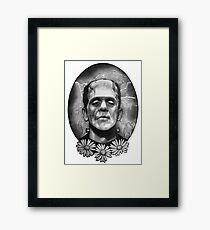 Boris Karloff as Frankenstein's Monster Framed Print