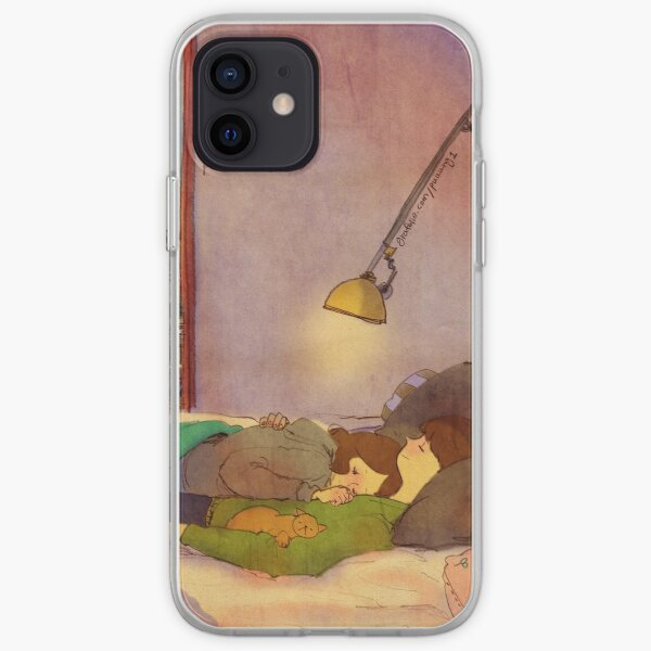 Nap together iPhone Soft Case