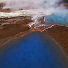 Geysir pools, Iceland by Dave McBride