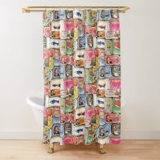 Tinned Seafood of Portugal Shower Curtain