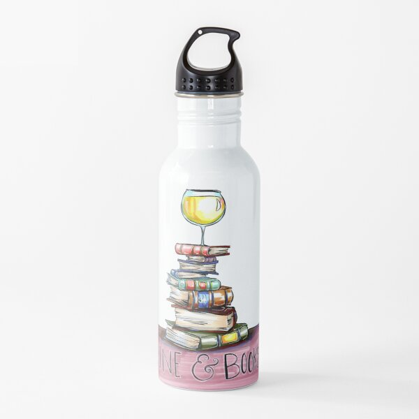 Wein & Bücher Trinkflasche