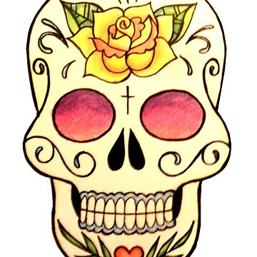 Sugar Skull #3 by rachelshade