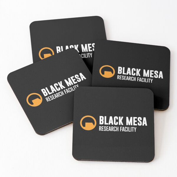 Black Mesa Research Facility Coasters (Set of 4)