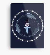 Song of the Sea - Selkie and seals Metal Print