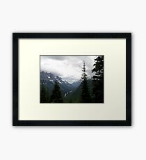 VIEW OF HEAVEN - GLACIER NATIONAL PARK Framed Print