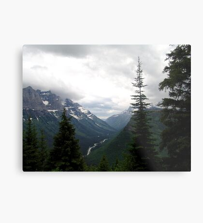 VIEW OF HEAVEN - GLACIER NATIONAL PARK Metal Print