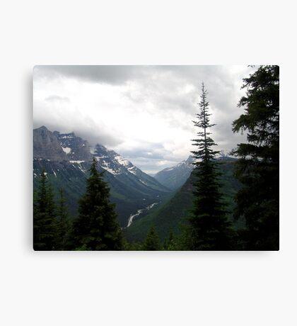 VIEW OF HEAVEN - GLACIER NATIONAL PARK Canvas Print
