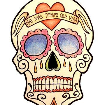 Sugar Skull #1 by rachelshade