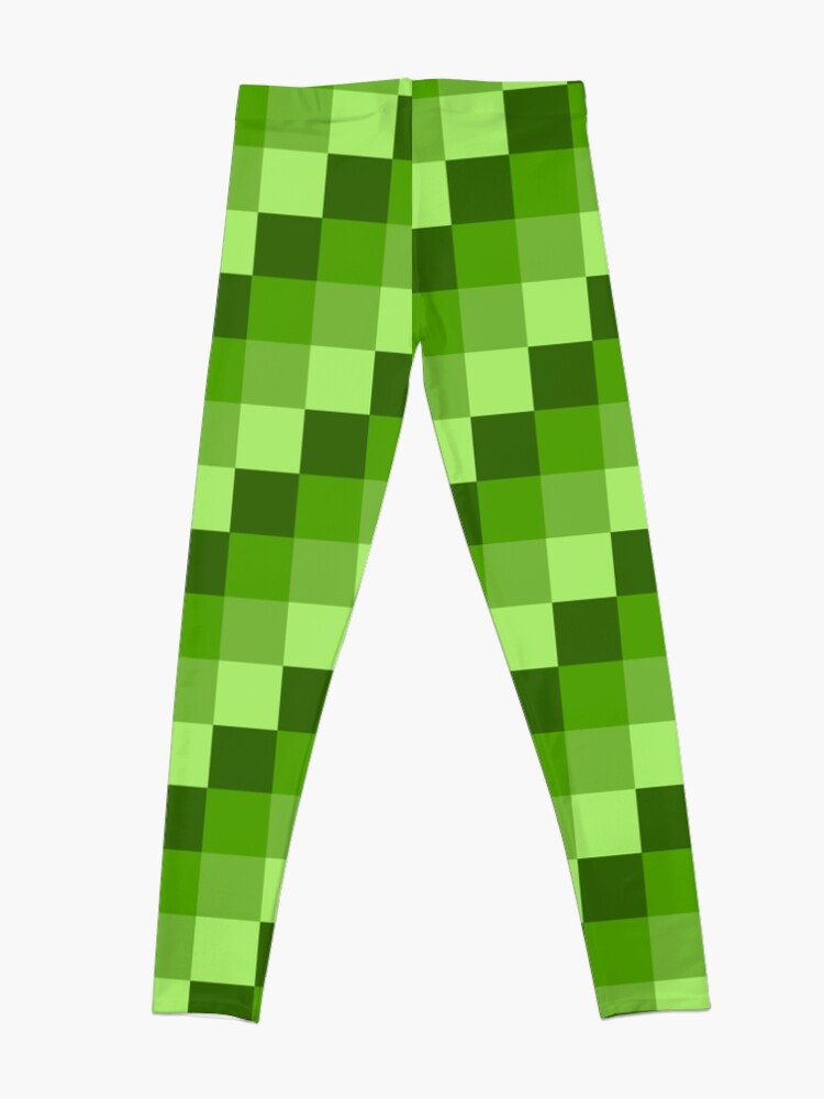 Alternate view of Green Blocks Leggings