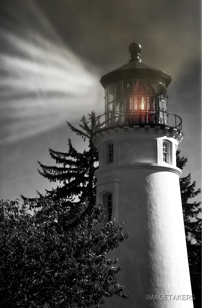 Umpqua River Lighthouse - Light Up Your Life by IMAGETAKERS