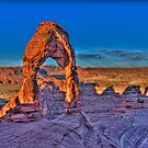 Delicate Arch by Adam Olson
