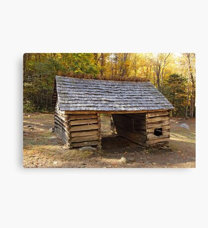 Jim Bales Corn Crib Canvas Print