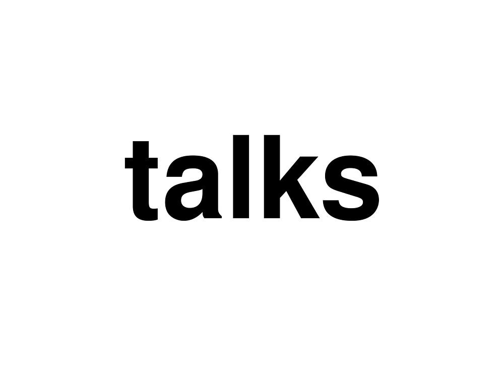 talks by ninov94