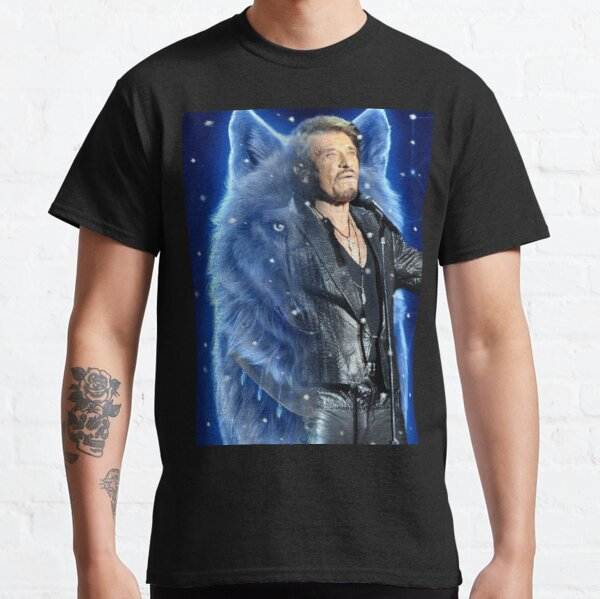 Johnny Hallyday  Classic T-Shirt