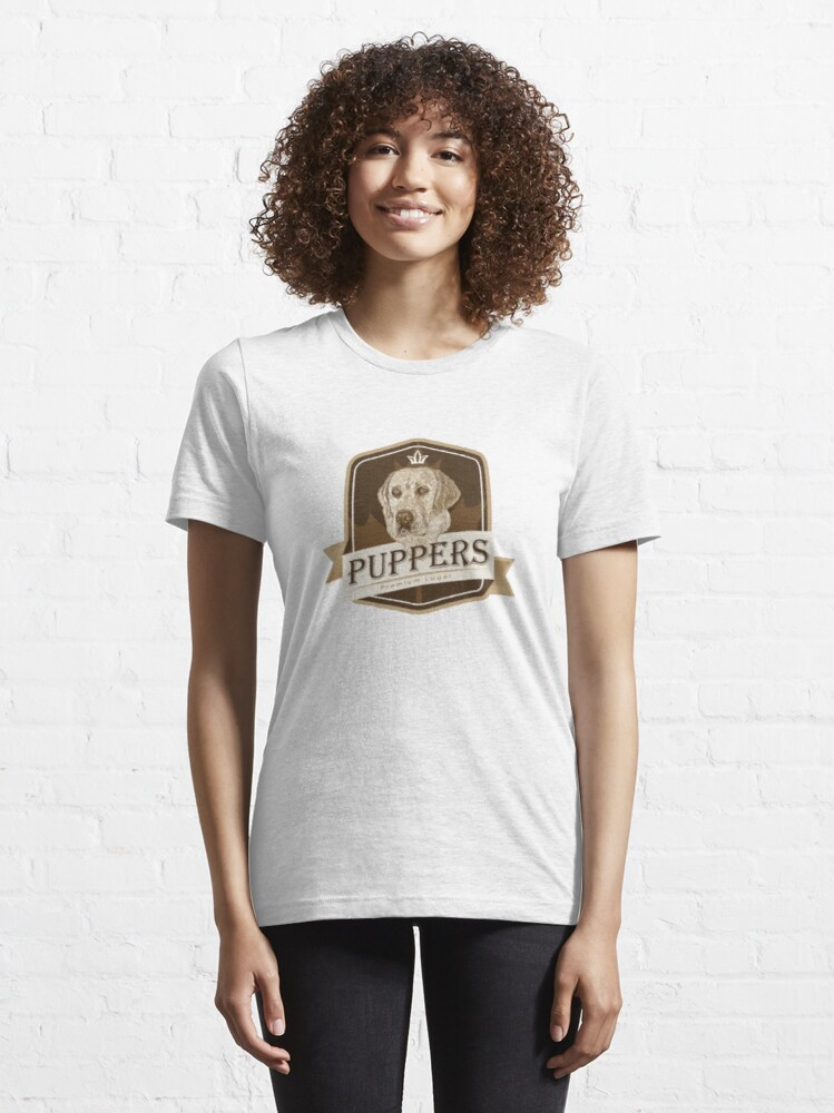 Alternate view of Puppers, Officially Wayne's favourite beer. Essential T-Shirt