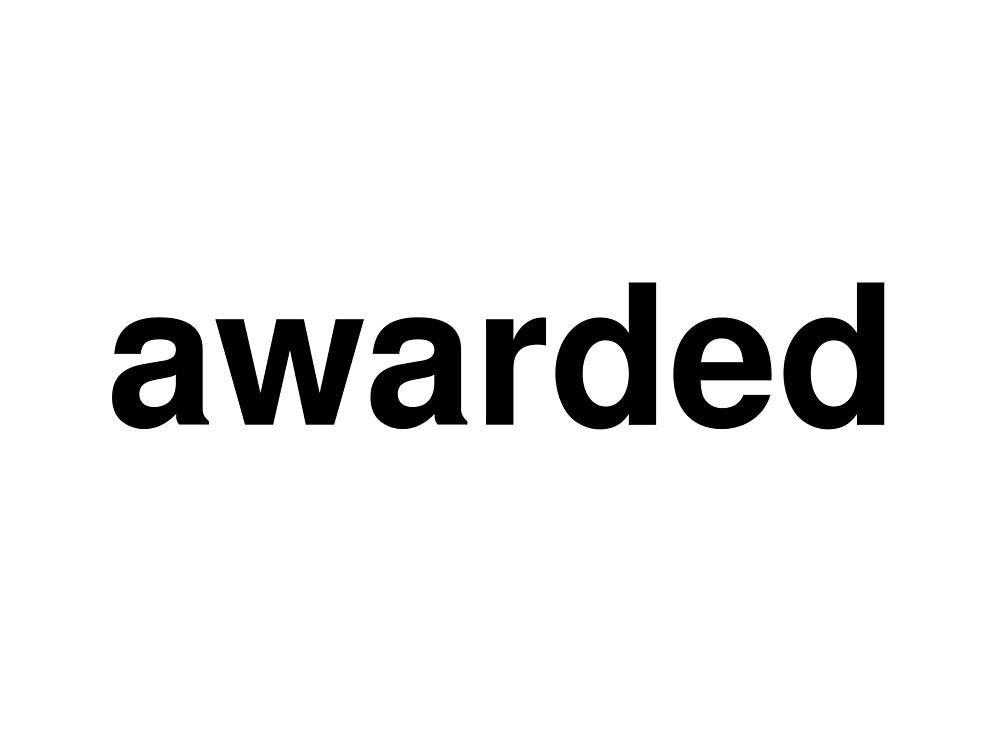 awarded by ninov94