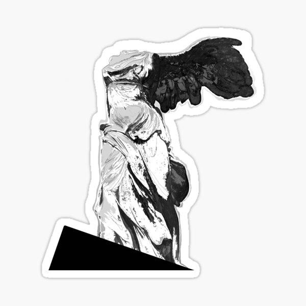 Nike of Samothrace Sticker