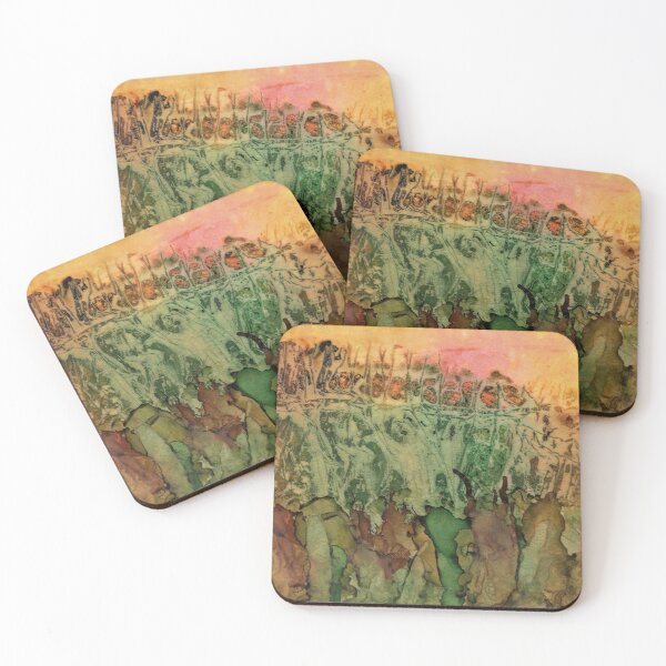 Falling for Andrea Coasters (Set of 4)