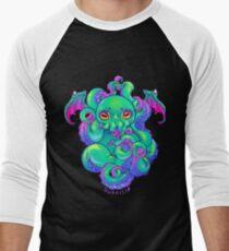 Cthulhu Tentacles Men's Baseball ¾ T-Shirt