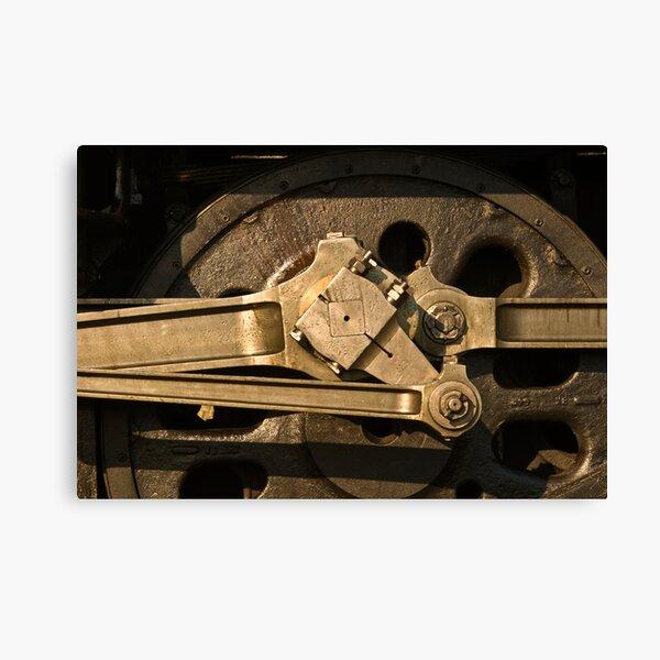 Wheel & gear detail, 3801 Canvas Print