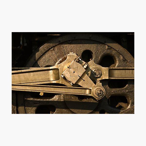 Wheel & gear detail, 3801 Photographic Print