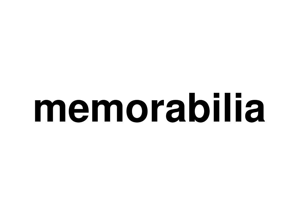 memorabilia by ninov94