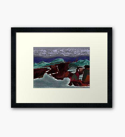"""""""Rusty Farm""""  Framed Print"""