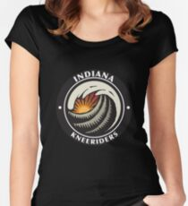 Indiana Round Women's Fitted Scoop T-Shirt