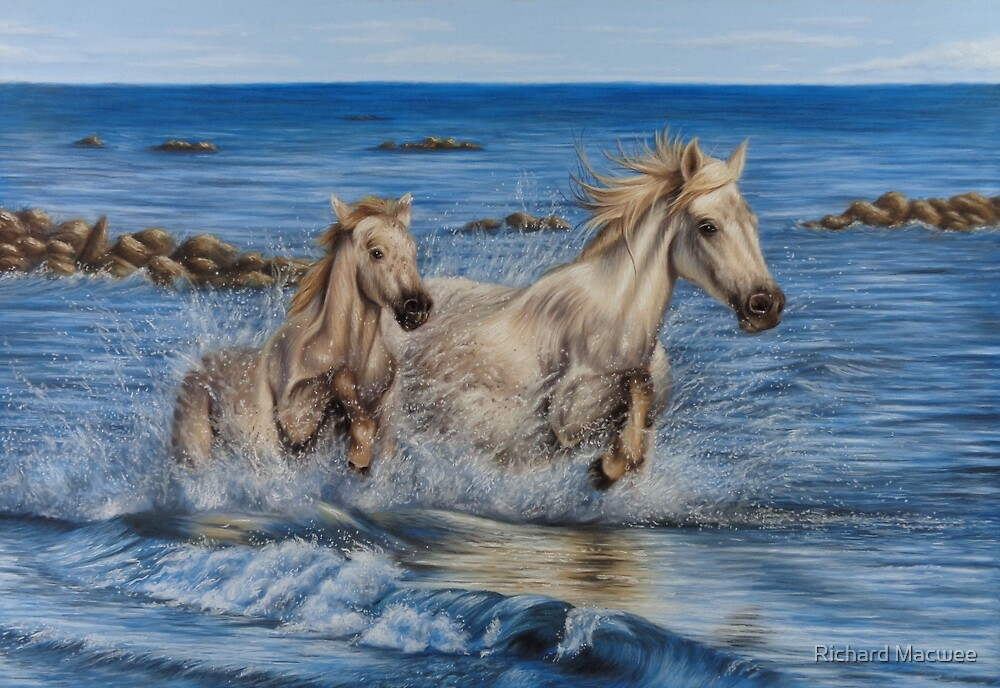 Horses by Richard Macwee