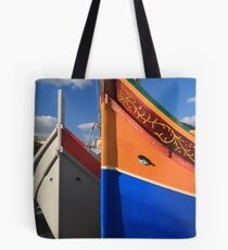 Maltese boats Tote Bag