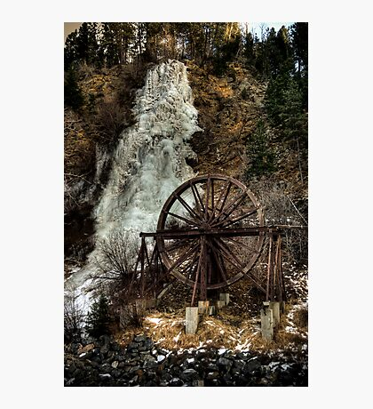 Idaho Springs Falls Photographic Print