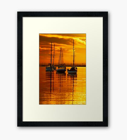 """Morningtide"" Framed Print"