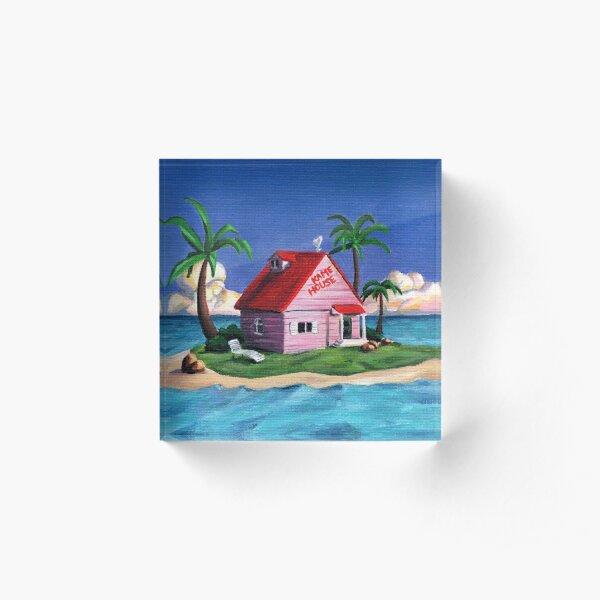 Kame House Acrylic Block
