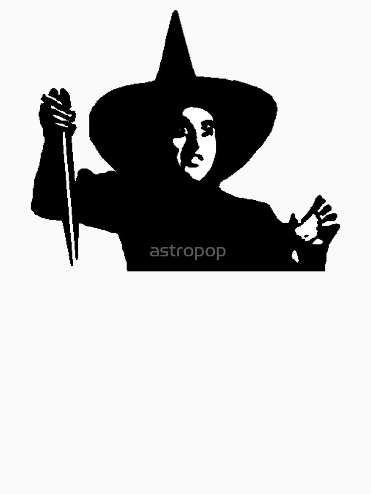 Bruja malvada del mago de Oz de astropop