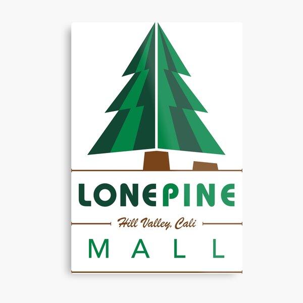 Lone Pine Mall Metal Print