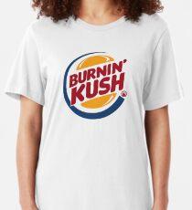 Burnin' Kush  Slim Fit T-Shirt