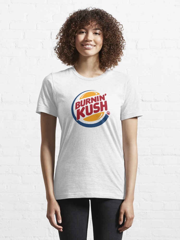 Alternate view of Burnin' Kush  Essential T-Shirt