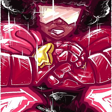 Painted Garnet by Poofette