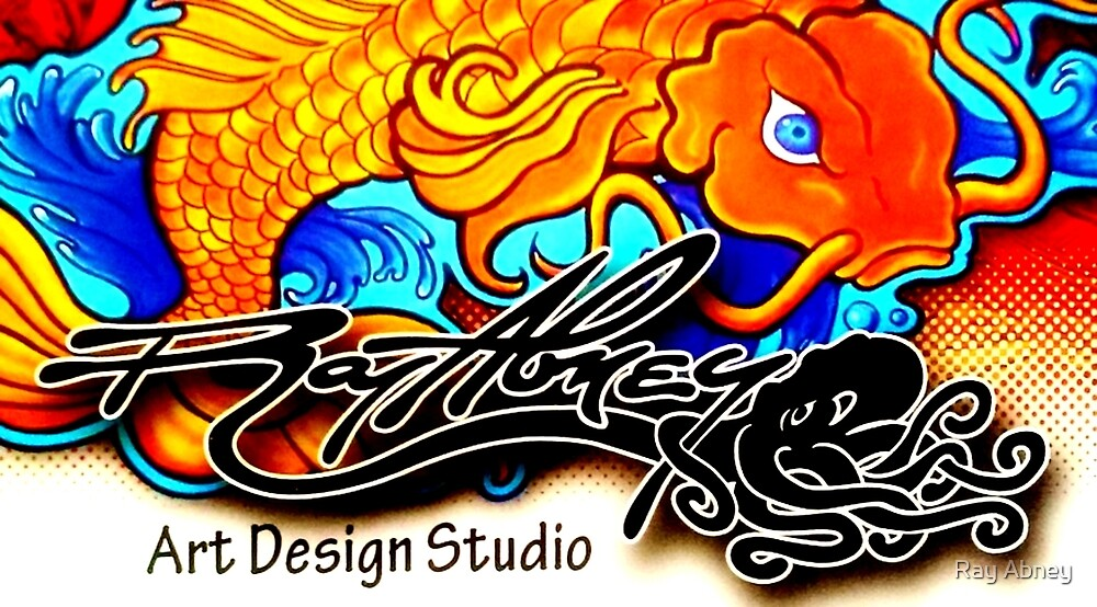 Ray Abney Art Design Studio Logo by Ray Abney