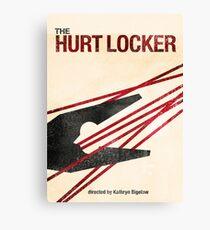 """The Hurt Locker""- minimalist movie poster Canvas Print"