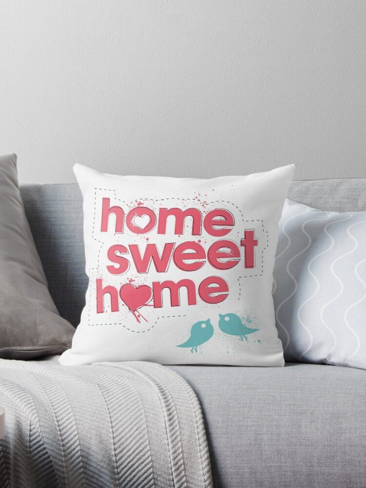 Home Sweet Home - Pink by littlemissquote