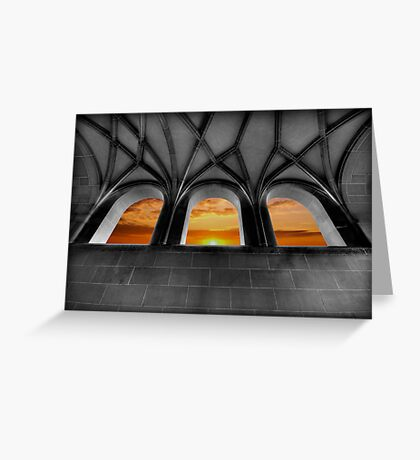 Golden Arches Greeting Card