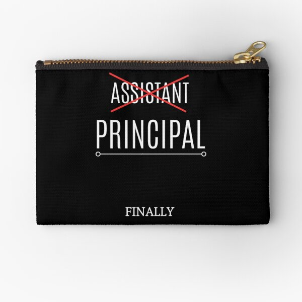 Best Gift Idea for School Principal on Birthday Zipper Pouch