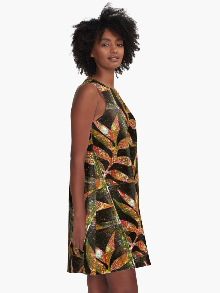 Alternate view of The darkness fades A-Line Dress