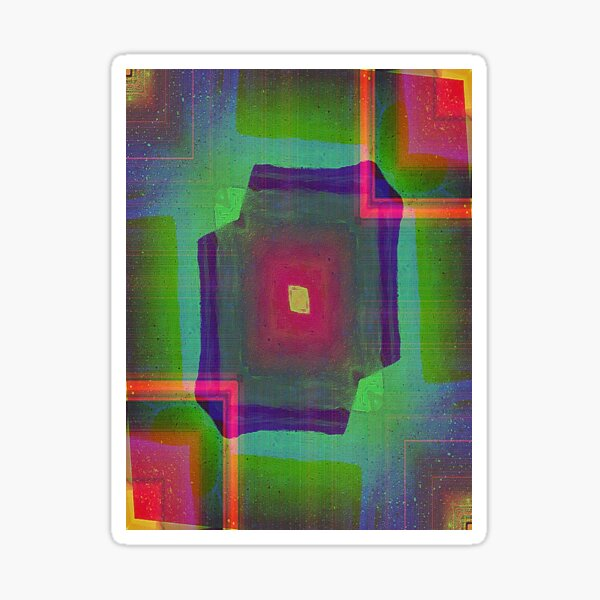 Squares and rectangles  Sticker