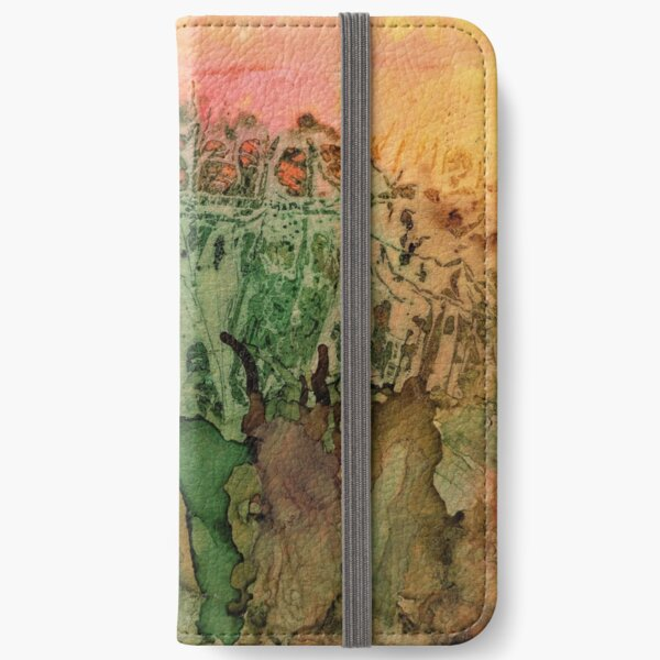 Falling for Andrea iPhone Wallet