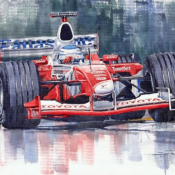 Panasonic Toyota TF102 F1 2002 Mika Salo by shevchukart