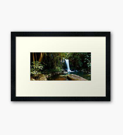 Curtis Falls, Mount Tamborine. #2 Framed Print