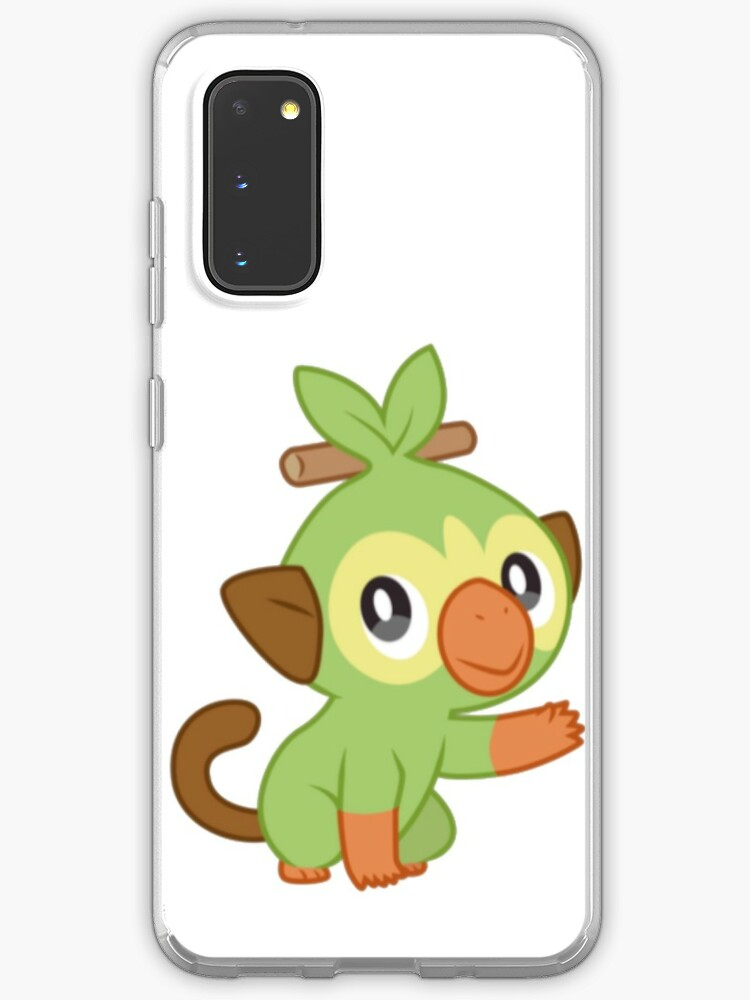 Grookey Pokemon Sword And Shield Case Skin For Samsung Galaxy By Pokemongear Redbubble It is one of the three starter pokémon revealed for the core titles, pokémon sword and shield. redbubble