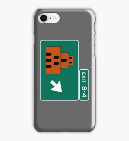 EXIT 8-4 iPhone Case/Skin